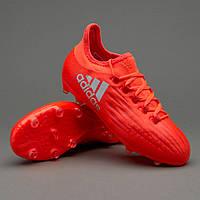 Детские футбольные бутсы adidas X 16.1 Kids FG BB3859 Solar Red/Silver Metallic/Hi-Res Red