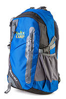 Рюкзак туристический на 40 литров GREEN CAMP ELECTRON40 (синий)