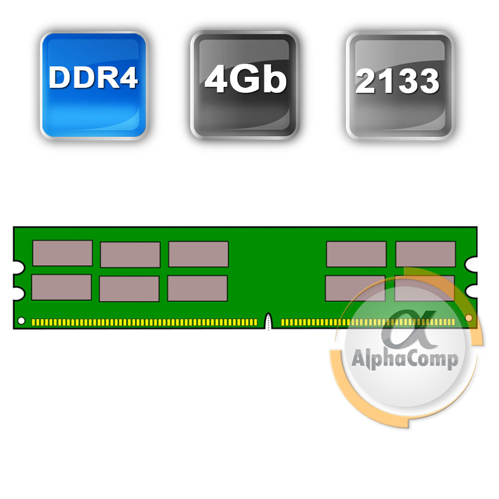 Модуль памяти DDR4 4Gb Patriot (PSD44G213341) 2133