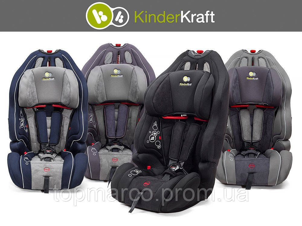 Автокресло  KinderKraft 9-36 kg SMART UP