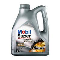 Моторное масло Mobil Super 3000 x1 Diesel 5W-40, 4л.