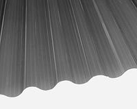 Лист ПВХ Salux (Салюкс) W 76/18 (1,8*0,9) волна дымчатый