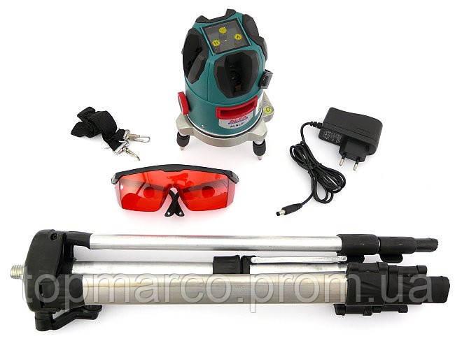 Лазерный нивелир AL-FA (Италия) +штатив+кейс+очки