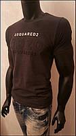 Dsquared футболка мужская однотонная