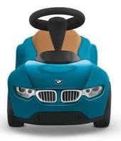 Брендовый детский автомобиль BMW Baby Racer III BLUE/CARAMEL - 80932413783