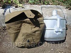 Котелок десантный СССР с чехлом