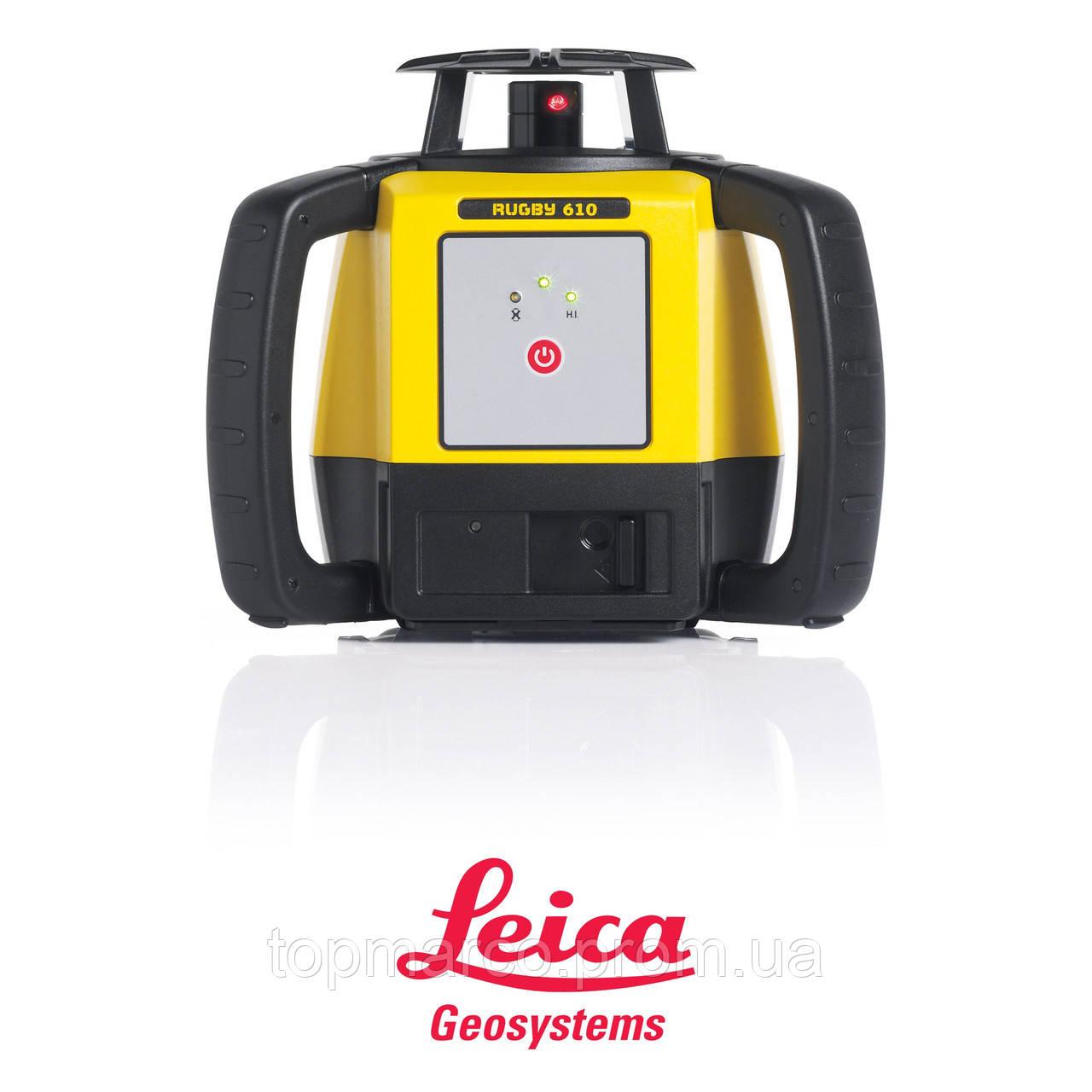 Лазерный нивелир Leica Rugby 610 + батарея