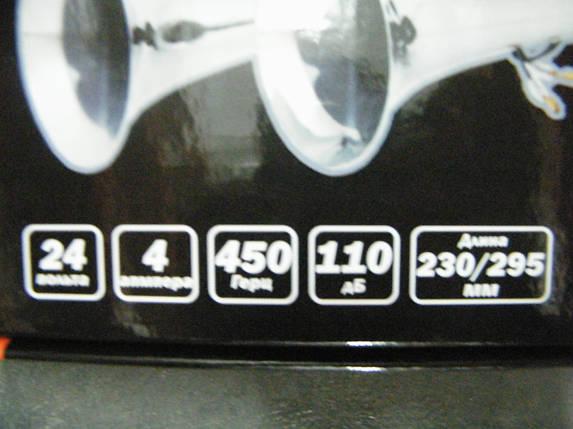 Сигнал электропневматический 24V (2 рожка) LAVITA, фото 2