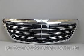 Mercedes S S-Class W222 2013-17 S65 решетка радиатора AMG Новая Оригинал