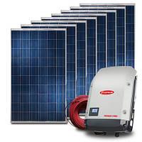 """Сетевая 3-ф солнечная станция """"Fronius SYMO + JA Solar"""", 15 кВт """"под зеленый тариф"""""""