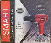 Сетевой шуруповерт SMART 750 Вт