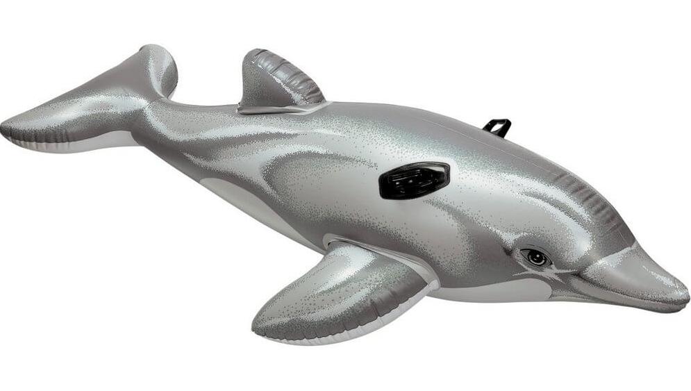 Плотик Дельфин 175х66см, Intex 58535