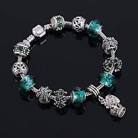 Женский браслет Пандора шарм Pandora