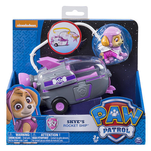 Nickelodeon Paw Patrol Skye's Rocket Ship ( Щенячий патруль Скай на ракете )