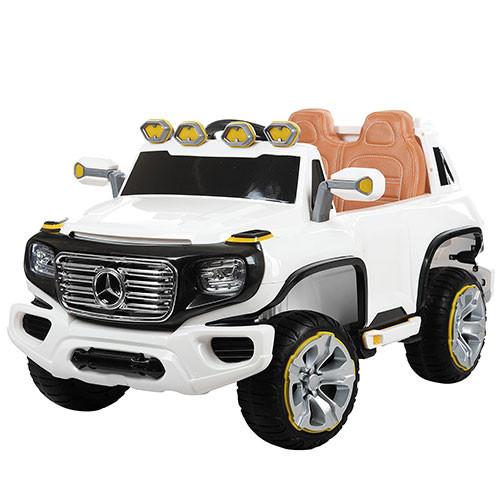 Детский электромобиль  Mercedes ZP 8005 EBLR-1: 2,4g, 12V7A, кожа-Белый -купить оптом