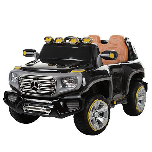 Детский электромобиль  Mercedes  ZP 8005 EBLR-2: 2,4g, 12V7A, кожа-Черный -купить оптом