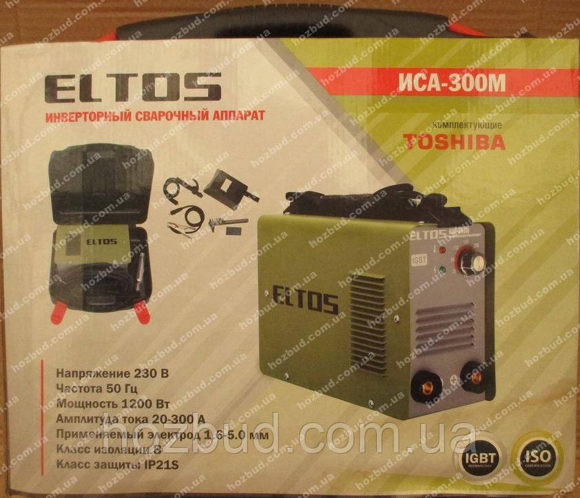 Сварка инверторная Eltos ИСА-300М