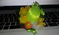 """Пасхальный настольный декор-сувенир """"Цыплята"""", мал."""