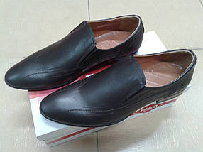 Туфли мужские из натуральной кожи FARO 18853, фото 2