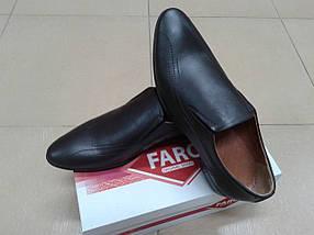 Туфли мужские из натуральной кожи FARO 18853, фото 3