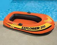 Надувная двухместная лодка Explorer 200