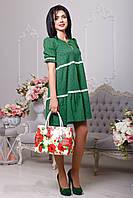 Легкое весеннее зеленое платье