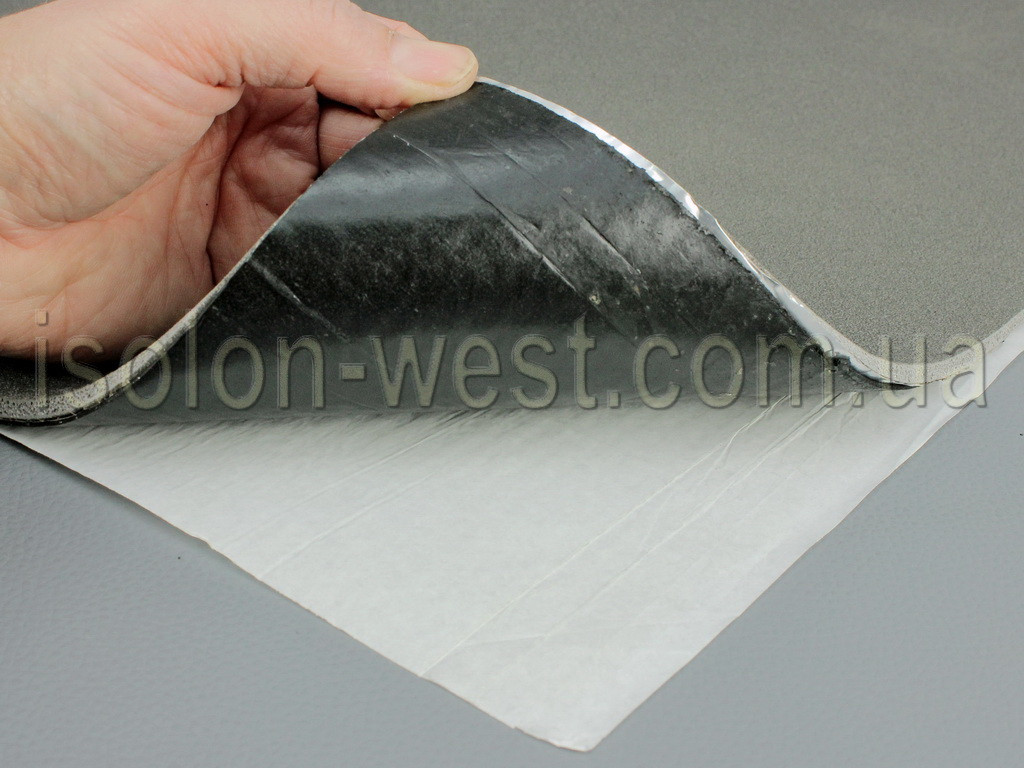 Вибро-шумка 2в1 И5-Ф4.0 (700х500 мм) - вибро и шумоизоляция в одном листе