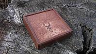 Коробочка с выдвижной крышкой 10*10*3,5 см, фото 1