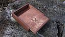 Коробочка с выдвижной крышкой 10*10*3,5 см, фото 2