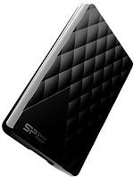 Внешний жесткий диск (HDD) Silicon Power DIAMOND D06 1TB USB 3.0 Black