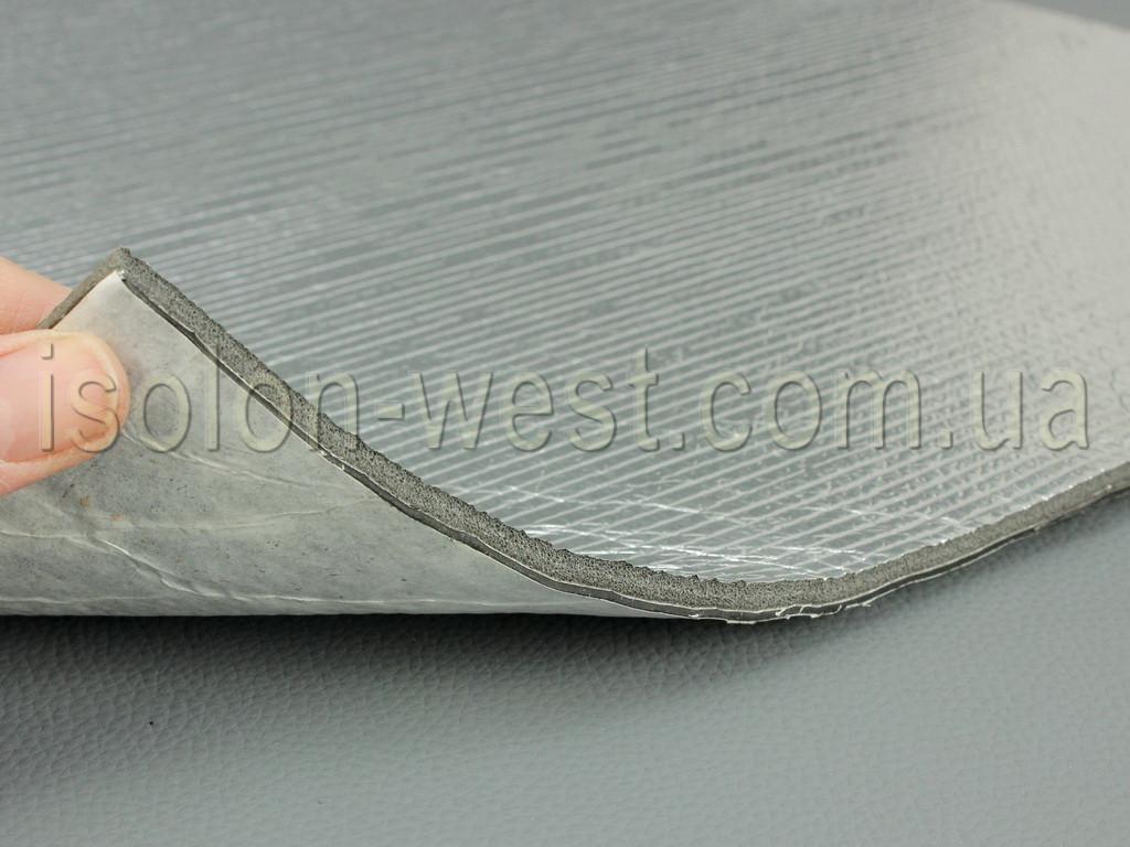 Вибро-шумка 2в1 ФИ5-Ф4.0 (700х500 мм) - вибро и шумоизоляция в одном листе.