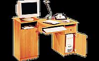 Стол компьютерный, офисный, с тумбой под манитор и полочкой под клавиатуру разм 84х59х123 см Стол 123