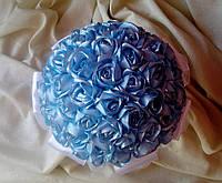 """Букет-дублер для невесты """"Голубая роза"""""""