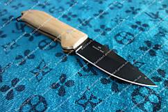 Нож нескладной, рукоять дерево  чехол из кордуры