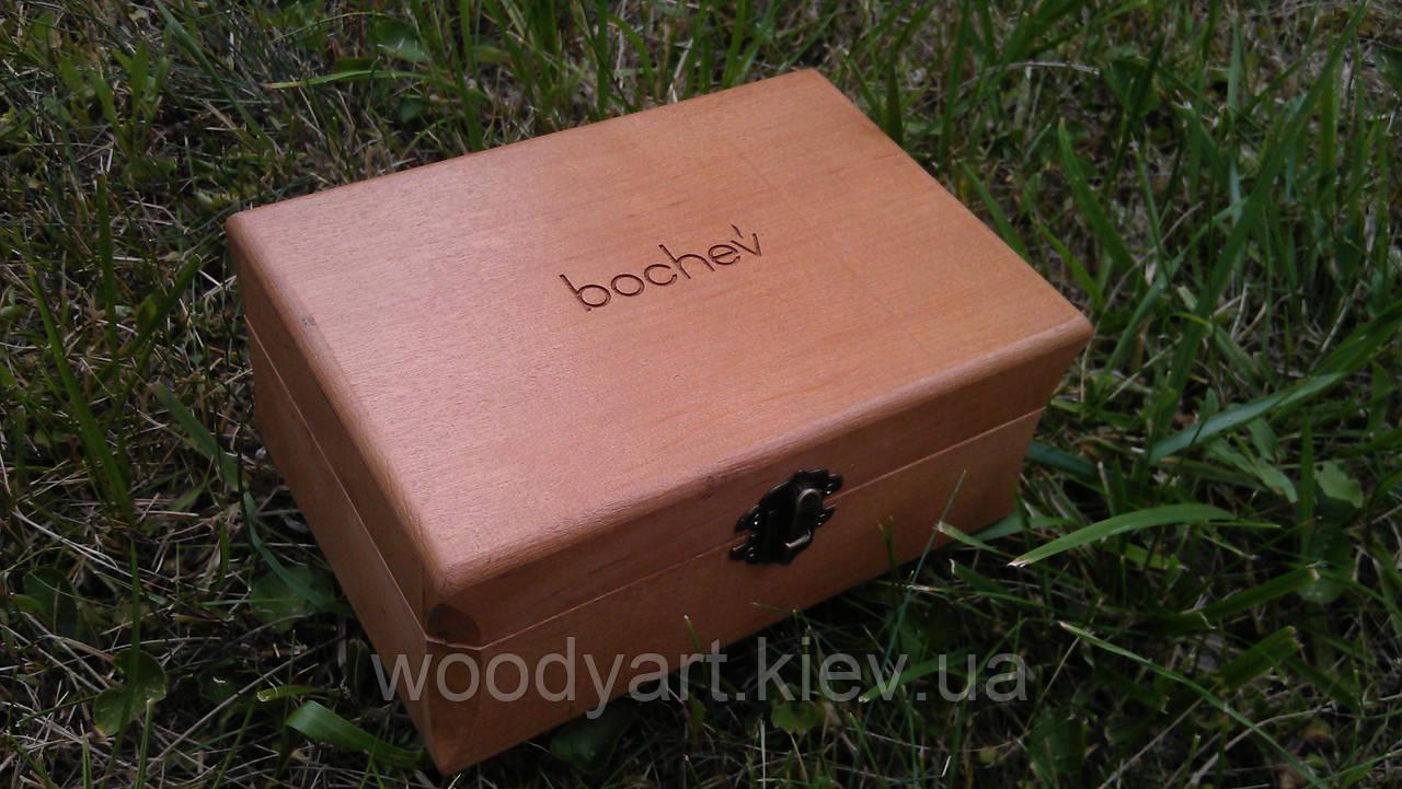 Шкатулка деревянная, 18*10*8 см