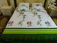 Красивое постельное белье хорошего качества бязь полуторное