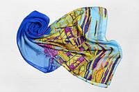 Легкий шарф Молинелла Город, синий