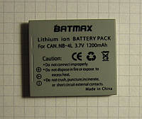 Аккумулятор Батарея Canon NB-4L BATMAX / 1200mAh