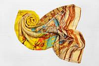 Легкий шарф Молинелла Город, желтый