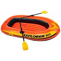 Лодка EXPLORER 300 на 3 человек с веслами