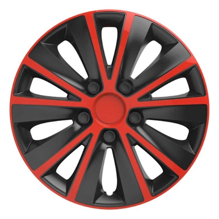 Колпаки Elegant  Rapide RED BLACK R 14