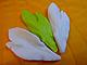 """Вайнер силиконовый """"Лист пиона"""" 8,5 см 3,5 см, фото 2"""