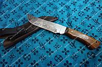 Нож для охоты и рыбалки Сохатый (Ручная работа),мощный и надежный, кожаный чехол в комплекте