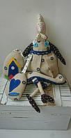 Курочка в стиле Тильда, подарочек  Hand Made игрушка 34 см