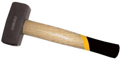 Кувалда 1500г деревянная Ручка (дуб) sigma (4311351), фото 2