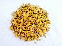 Декоративный цветной щебень круглый Желтый(192)