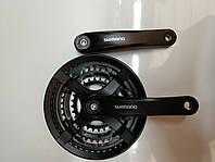 Система Шатун Shimano FC-TY501 48-38-28 оригинал надежный, фото 1