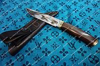 Нож для рыбалки и охоты шерхан,элитная серия