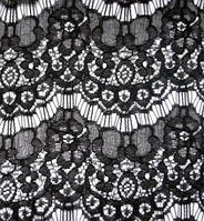 Гипюр стрейч реснички черный,гипюр стрейч реснички купить  оптом украина,ткани АРТ ТЕКСТИЛЬ