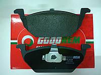 Гальмівні колодки передні без датчика (вушка вверх) VW Caddy III 04- RM1084 GOODREM